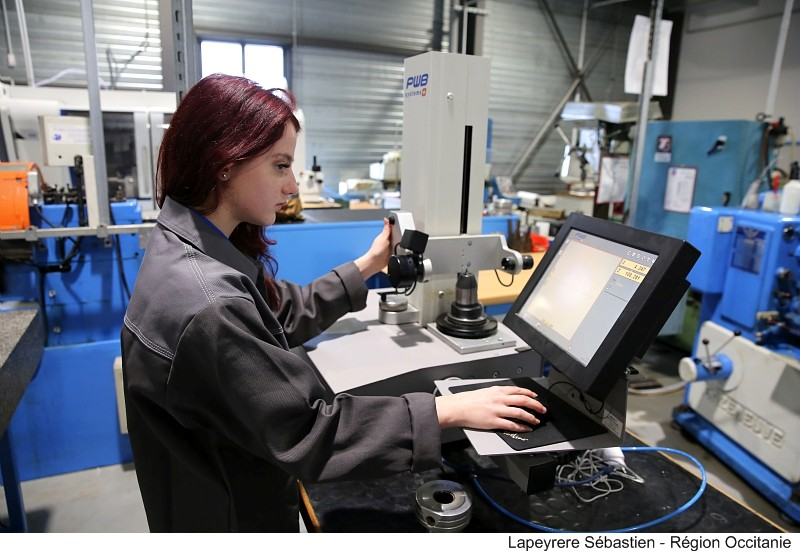 Apprentissage industrie
